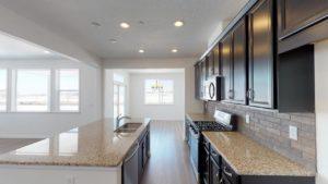 alex model home kitchen
